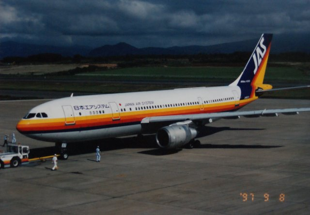 日本エアシステム Airbus A300B4...