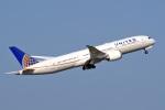 tkosadaさんが、羽田空港で撮影したユナイテッド航空 787-9の航空フォト(写真)