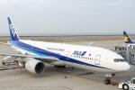 ShiShiMaRu83さんが、神戸空港で撮影した全日空 777-281の航空フォト(飛行機 写真・画像)