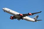 OMAさんが、成田国際空港で撮影したスカンジナビア航空 A340-313Xの航空フォト(飛行機 写真・画像)