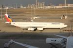 OMAさんが、羽田空港で撮影したフィリピン航空 A340-313Xの航空フォト(飛行機 写真・画像)