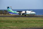 kumagorouさんが、壱岐空港で撮影したオリエンタルエアブリッジ DHC-8-201Q Dash 8の航空フォト(飛行機 写真・画像)