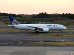 よんすけさんが、成田国際空港で撮影したユナイテッド航空 787-8 Dreamlinerの航空フォト(写真)