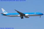 Chofu Spotter Ariaさんが、成田国際空港で撮影したKLMオランダ航空 777-306/ERの航空フォト(飛行機 写真・画像)