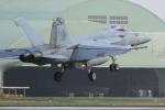 多楽さんが、茨城空港で撮影したアメリカ海軍 F/A-18E Super Hornetの航空フォト(写真)