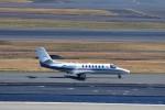 T.Sazenさんが、羽田空港で撮影した朝日新聞社 560 Citation Encoreの航空フォト(飛行機 写真・画像)