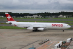 OMAさんが、成田国際空港で撮影したスイスインターナショナルエアラインズ A340-313Xの航空フォト(飛行機 写真・画像)