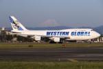 sunagimoさんが、横田基地で撮影したウエスタン・グローバル・エアラインズ 747-446(BCF)の航空フォト(写真)