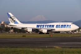 sunagimoさんが、横田基地で撮影したウエスタン・グローバル・エアラインズ 747-446(BCF)の航空フォト(飛行機 写真・画像)