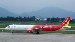 westtowerさんが、ノイバイ国際空港で撮影したベトジェットエア A321-211の航空フォト(写真)