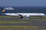 T.sさんが、羽田空港で撮影したルフトハンザドイツ航空 A340-642の航空フォト(写真)