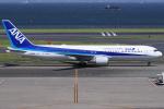 T.sさんが、羽田空港で撮影した全日空 767-381/ERの航空フォト(写真)