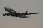 uhfxさんが、関西国際空港で撮影したカーゴルクス 747-4R7F/SCDの航空フォト(飛行機 写真・画像)