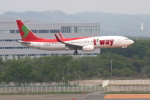 prado120さんが、新千歳空港で撮影したティーウェイ航空 737-8Q8の航空フォト(写真)