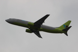 uhfxさんが、関西国際空港で撮影したジンエアー 737-86Nの航空フォト(写真)