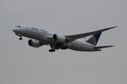 uhfxさんが、関西国際空港で撮影したユナイテッド航空 787-8 Dreamlinerの航空フォト(写真)