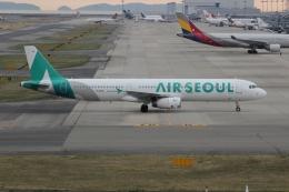 uhfxさんが、関西国際空港で撮影したエアソウル A321-231の航空フォト(写真)