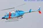 いおりさんが、八尾空港で撮影した大阪府警察 206L-4 LongRanger IVの航空フォト(写真)