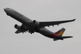 uhfxさんが、関西国際空港で撮影したアシアナ航空 A330-323Xの航空フォト(写真)