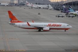uhfxさんが、関西国際空港で撮影したチェジュ航空 737-86Nの航空フォト(写真)