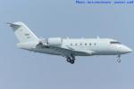 いおりさんが、岩国空港で撮影した連邦航空局 CL-600-2B16 Challenger 604の航空フォト(写真)