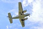 shin10975さんが、鹿児島空港で撮影した本田航空 58 Baronの航空フォト(写真)