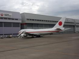 sunrise21さんが、羽田空港で撮影した航空自衛隊 747-47Cの航空フォト(飛行機 写真・画像)
