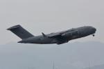 RCH8607さんが、横田基地で撮影したイギリス空軍 C-17A Globemaster IIIの航空フォト(写真)
