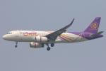 安芸あすかさんが、スワンナプーム国際空港で撮影したタイ・スマイル A320-232の航空フォト(写真)