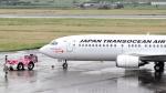 誘喜さんが、宮古空港で撮影した日本トランスオーシャン航空 737-446の航空フォト(写真)