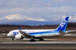 noriphotoさんが、新千歳空港で撮影した全日空 787-8 Dreamlinerの航空フォト(写真)