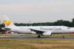 安芸あすかさんが、フランクフルト国際空港で撮影したコンドル A320-233の航空フォト(写真)