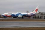 北の熊さんが、新千歳空港で撮影した中国国際航空 737-89Lの航空フォト(飛行機 写真・画像)