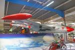 りんたろうさんが、ジンスハイム自動車・技術博物館 - Sinsheim Auto & Technik Museumで撮影したスイス空軍 DH.112 Venom FB50の航空フォト(写真)