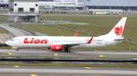 誘喜さんが、クアラルンプール国際空港で撮影したライオン・エア 737-9GP/ERの航空フォト(写真)