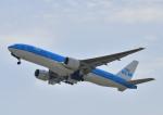 kix-boobyさんが、関西国際空港で撮影したKLMオランダ航空 777-206/ERの航空フォト(写真)