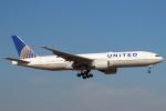 セブンさんが、成田国際空港で撮影したユナイテッド航空 777-224/ERの航空フォト(写真)