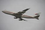 ladyinredさんが、成田国際空港で撮影したドバイ・ロイヤル・エア・ウィング 747-422の航空フォト(写真)