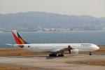 ハピネスさんが、関西国際空港で撮影したフィリピン航空 A340-313Xの航空フォト(写真)