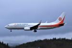 marariaさんが、青森空港で撮影した奥凱航空 737-8KFの航空フォト(写真)