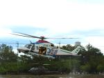 @あきやんさんが、久居駐屯地で撮影した三重県防災航空隊 AW139の航空フォト(写真)
