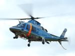 @あきやんさんが、久居駐屯地で撮影した三重県警察 A109E Powerの航空フォト(飛行機 写真・画像)