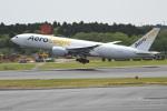 シュウさんが、成田国際空港で撮影したエアロ・ロジック 777-FZNの航空フォト(写真)