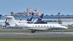 パンダさんが、成田国際空港で撮影したHKJ-Hong Kong Jet Gulfstream G650 (G-VI)の航空フォト(写真)