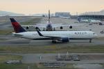 uhfxさんが、関西国際空港で撮影したデルタ航空 767-3P6/ERの航空フォト(写真)