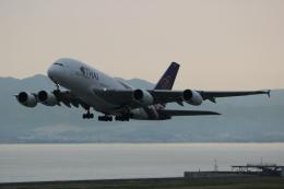 uhfxさんが、関西国際空港で撮影したタイ国際航空 A380-841の航空フォト(写真)