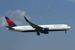 ja007gさんが、成田国際空港で撮影したデルタ航空 767-3P6/ERの航空フォト(飛行機 写真・画像)