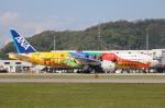 てくてぃーさんが、松山空港で撮影した全日空 777-281/ERの航空フォト(飛行機 写真・画像)