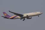 じゃりんこさんが、成田国際空港で撮影したタイ国際航空 A330-343Xの航空フォト(写真)