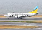 ふじいあきらさんが、羽田空港で撮影したAIR DO 737-54Kの航空フォト(飛行機 写真・画像)